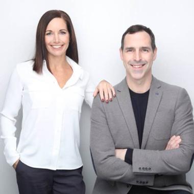 Rnold Smith and Michelle Falcone photo