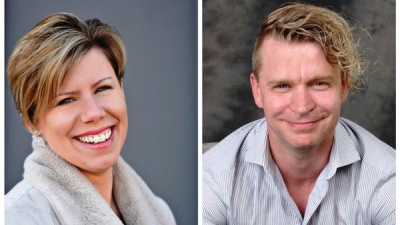 Ken Lewicki and Kim Wuirch photo